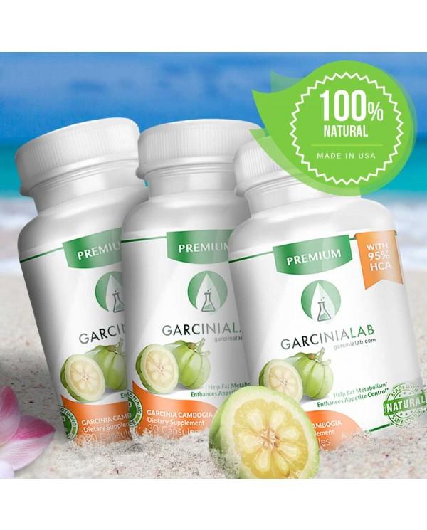 3 Pack | Garcinia Cambogia | 95%